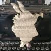 White Rabbit Book Sculpture