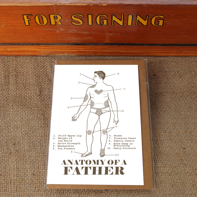 ANATOMY OF A FATHER - foolhouse
